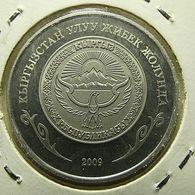 Kyrgyzstan 1 Som 2009 Proof - Kirgizië
