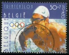 België 2911 - Sport - Olympische Spelen Sydney - Triatlon - O - Used - Belgium