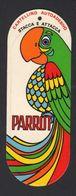 Stikers Parrot Abbigliamento Pappagallo Etichetta Clothing Vêtements Perroquet FAS00069 - Sammelbilder, Sticker