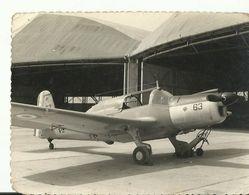 Photo Avion  Militaire 1956   11 X 8  Cm - Aviación