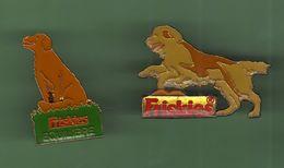 CHIEN *** FRISKIES *** Lot De 2 Pin's Differents *** 0030 (7-2) - Animals