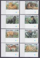 1993Sierra Leone2050-2057bFauna50,00 € - Monkeys