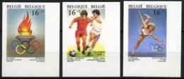 België 2540/42 ON - Sport - Olympisch Comité - Voetbal - Winterspelen - Lillehammer - Football - Met Hoekbladboord - SUP - Belgique