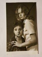 Photo Vintage. Original. Filles Lesbiennes. L'URSS. Lettonie - Weiblicher Akt (1941-1960)