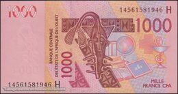 TWN - NIGER (W.A.S) 615Hn - 1000 1.000 Francs 2003 (2014) UNC - Niger