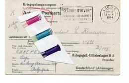 MILITARIA / LIEGE  / OFLAG / KRIEGSGEFANGENENPOST / - 1939-45
