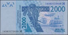 TWN - NIGER (W.A.S) 616Hn - 2000 2.000 Francs 2003 (2014) UNC - Niger
