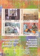 Poland 2005, Impressionism Paintings, MNH S/S - Ongebruikt