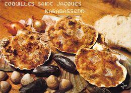 RECETTE Des COQUILLES Saint Jacques à La KARABASSENN - Ricette Di Cucina