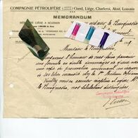 BASSE MEUSE / HACCOURT / COMPAGNIE PETROLIFERE / MILITARIA / LIEGE / SCLESSIN / - Historical Documents