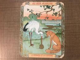Au Bon Marché Le Renard Et La Cigogne - Au Bon Marché