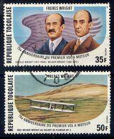 TOGO - N° 914/915* - 75è ANNIVERSAIRE DU VOL DES FRERES WRIGHT - Togo (1960-...)