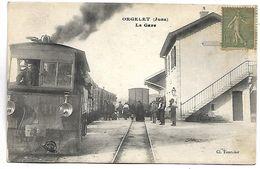 ORGELET - La Gare - TRAIN - Orgelet