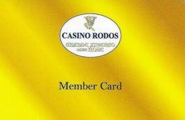 GRECIA KEY CASINO  Casino Rodos - Carte Di Casinò