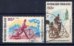 TOGO - N° 931/932* -  HISTOIRE DE LA BICYCLETTE - Togo (1960-...)