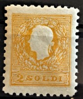 AUSTRIA 1858 - MLH - ANK 6Nb. - Neudruck 1894- 2s - Essais & Réimpressions