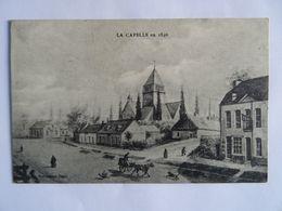CPA  02  LA CAPELLE En 1840 écrite En 1897  TBE - Sin Clasificación