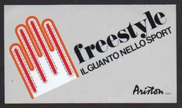 Stikers Freestyle Guanto Nello Sport Ariston Glove In Sports Gant Dans Le Sport FAS00070 - Sammelbilder, Sticker