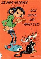 LAGAFFE - EN MON ABSENCE FAIS GAFFE AUX MINETTES - FRANQUIN - Humor