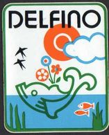 Stikers Delfino Abbigliamento Sportivo Sportswear Dolphin Vêtements De Sport Dauphin FAS00071 - Sammelbilder, Sticker