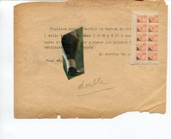 MILITARIA / RAVITAILLEMENT / TIMBRE / - Historical Documents
