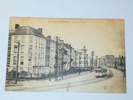 Blankenberghe / Avenue De Trooz. Voir Tram. Voyagée 1920 - Blankenberge