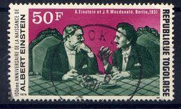TOGO - N° 950° -  ALBERT EINSTEIN - Togo (1960-...)