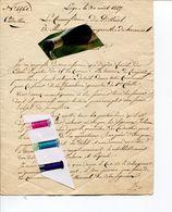 LIEGE / DOCUMENT ANCIEN /HACCOURT / CADASTRE / ACTE - Historical Documents