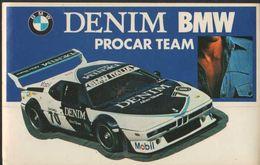Stikers Denim BMW Procar Team Rally Car Automobilismo FAS00074 - Sammelbilder, Sticker