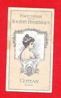 Carte Parfumée Ancienne - Parfumerie Société Hygiénique ; Cottan - Vintage (until 1960)
