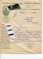 LIEGE / DOCUMENT ANCIEN / CHAINE HELICE / CHATELLERAULT / - Historical Documents