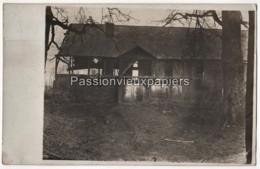 CARTE PHOTO ALLEMANDE CERNAY En DORMOIS ? 1916 FERME De BAYON ? - 4  (Ville Sur Tourbe?) - Other Municipalities