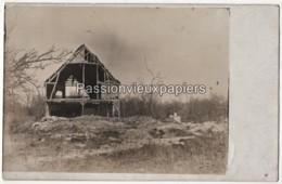 CARTE PHOTO ALLEMANDE CERNAY En DORMOIS ? 1916 FERME De BAYON ? - 3  (Ville Sur Tourbe?) - Other Municipalities