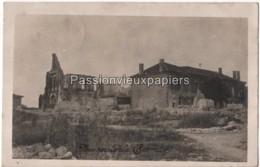 CARTE PHOTO ALLEMANDE CERNAY En DORMOIS 1915 - Other Municipalities