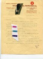 LIEGE / AMPOULES / PANSEMENTS / LIGATURES / HACCOURT / WWII / WW II / - Historical Documents