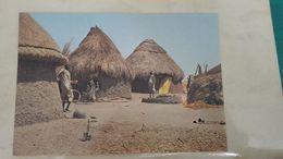 Rare Et Ancienne Carte-postale D'un Village Soudanais . - Sudan