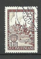 FINNLAND FINLAND 1952 Michel 411 Vaasa Stadt City O - Finland