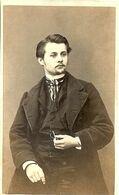 TRES VIEILLE ET BELLE PHOTO  CLAUDE ENVOIE SA PHOTO A RENE LE 23 SEPTEMBRE 1867 PERIN ET SCHAL 140 RUE ST DIZIER A NANCY - Photos
