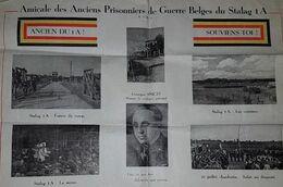 Amicale Des Anciens Prisonniers De Guerre Belges Du STALAG 1A - Georges SMETS - Calendrier 1947 - 2 Scans - 1939-45