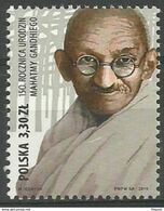 2019 Poland Mi 5162 Mahatma Gandhi MNH  ** - Mahatma Gandhi