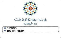 Casablanca Casino Aruba Slot Card .....[FSC]..... - Carte Di Casinò