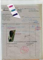 MILITARIA / SERVICE MILITAIRE / ARMEE / GUERRE / VISE / QUINCAILLERIE / - Historical Documents