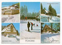 1981 YUGOSLAVIA, SLOVENIA, HOČE, POHORJE, ILLUSTRATED POSTCARD, USED - Jugoslawien