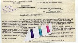 HACCOURT / RÉQUISITION / WWII / WW II / - Historical Documents