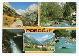 1980s YUGOSLAVIA, SLOVENIA, POSOCJE, ILLUSTRATED POSTCARD, MINT - Jugoslawien