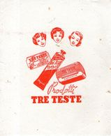 B 3551 - Carta Assorbente Tre Teste - Profumi & Bellezza