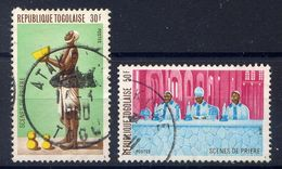 TOGO - N° 965/966° - SCÈNES DE PRIÈRES - Togo (1960-...)