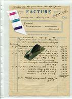 MILITARIA / HACCOURT / GUERRE / FACTURE / MENUISIER - Historical Documents