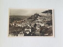 CPSM Le Puy 43, La Chapelle Saint Michel ďaiguilhe, Statue De Notre Dame De France, Rocher Corneille, Basilique - Le Puy En Velay