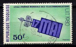TOGO - N° 988° - JOURNÉE MONDIALE DES TELECOMMUNICATIONS - Togo (1960-...)